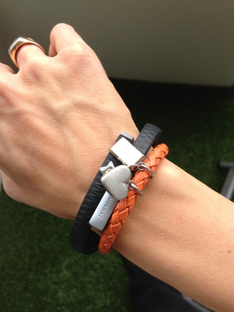 Mina armband: UP och B.A.B.Y. (1/6)