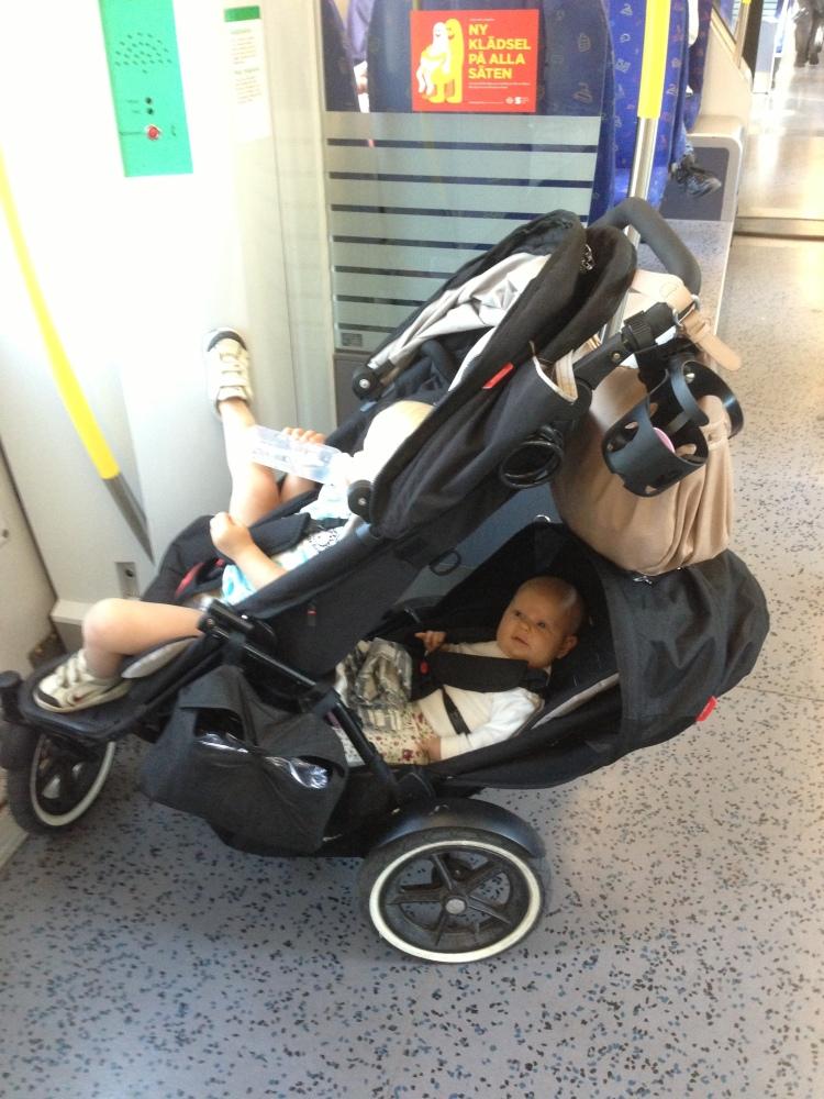 Bästa barnvagnen del 1: Phil & Teds Navigator (3/6)