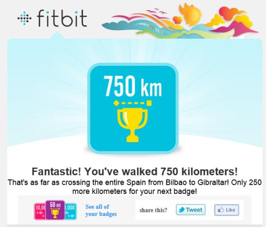 750km